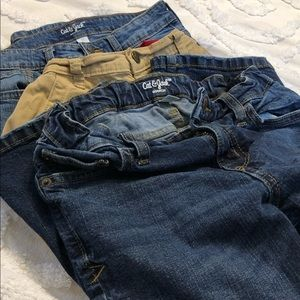 3 pairs of boy Size 12 jeans/pants 👖👖👖